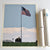 "Flag at Fort Williams Art Print 18"" x 24"" Wall Poster - Maine"