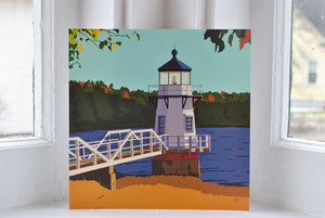 "Doubling Point Light Art Print 8"" x 8"" Square"
