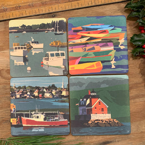 4 coasters for $36 - New England