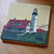 Portland Head Light Art Drink Coaster - Maine