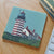 West Quoddy Head Light Art Drink Coaster - Maine