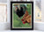 "Spring Chickens Art Print 8"" x 10"" Framed Wall Poster By Alan Claude"