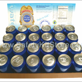 3 Cases of Canned Water