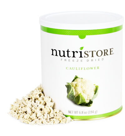 Nutristore™ Cauliflower-Freeze Dried