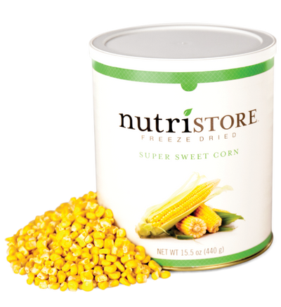 Nutristore™ Corn - Freeze Dried