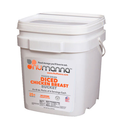 freeze dried chicken bucket