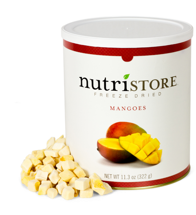 Nutristore™ Mangoes-Freeze Dried