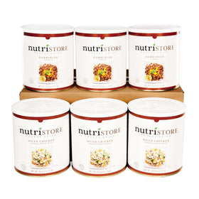 Nutristore™ Freeze-dried Meat Variety Kit