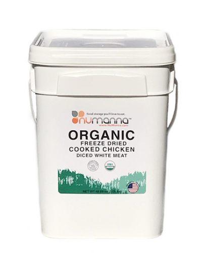 NuManna Organic Chicken Bucket