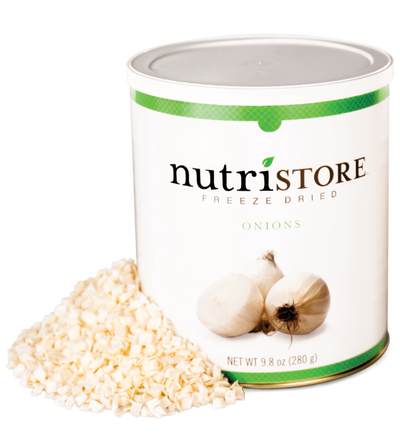 Nutristore™ Onions - Freeze Dried
