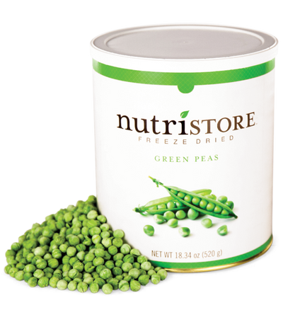 Nutristore™ Green Peas - Freeze Dried