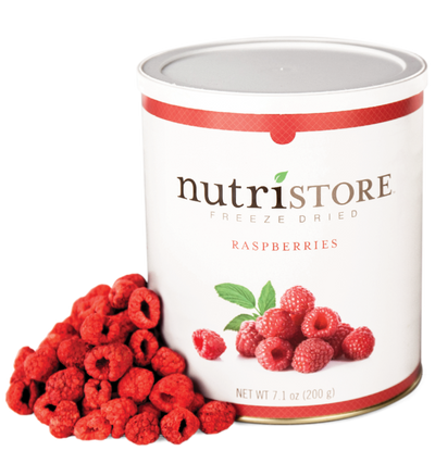 Nutristore™ Raspberries - Freeze Dried