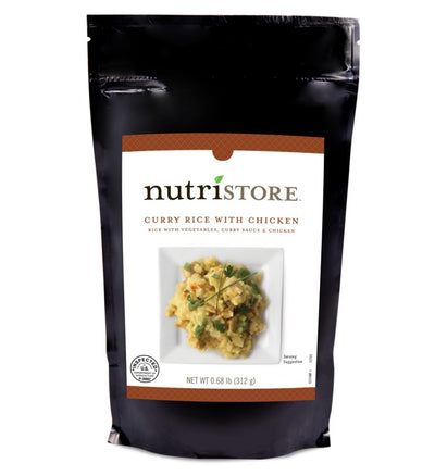 Nutristore™ Curry Rice With Chicken Entrée