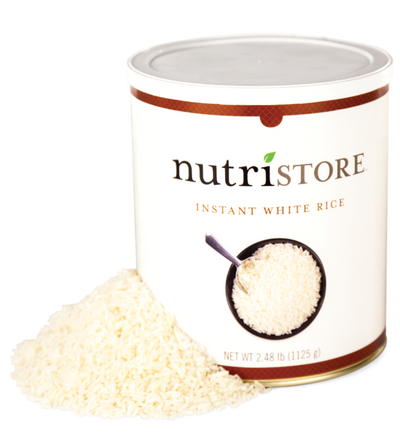 Nutristore™ Rice, Instant White