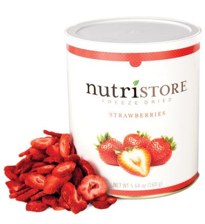 Nutristore™ Strawberries - Freeze Dried
