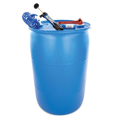 55-gallon Barrel Water Storage System with Aquamira Home Filtration Kit