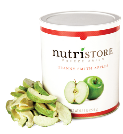 Nutristore™ Apples, Granny Smith - Freeze Dried
