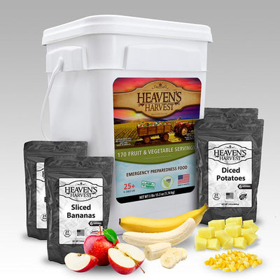Heavens Harvest Fruit and Vegetable Bucket