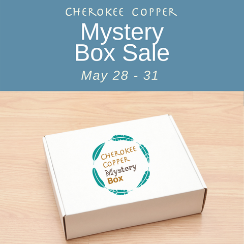 Mystery Box Event by Cherokee Copper
