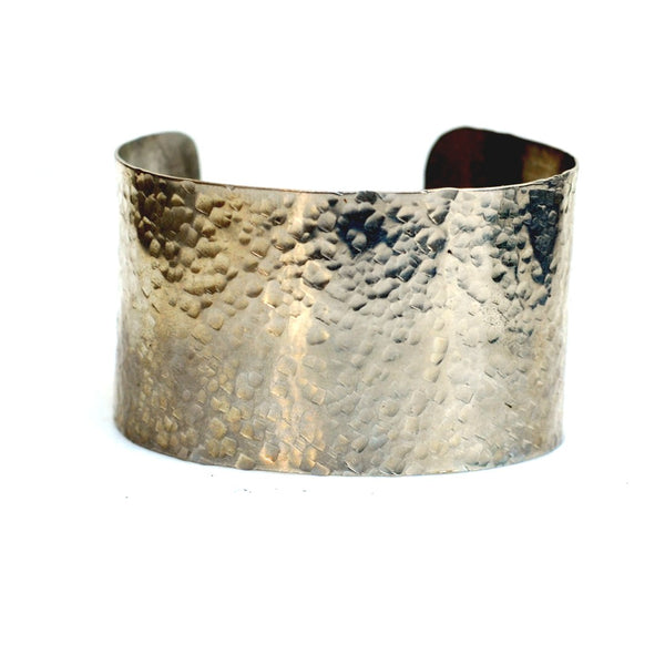 Jude Pebble Cuff in Silver