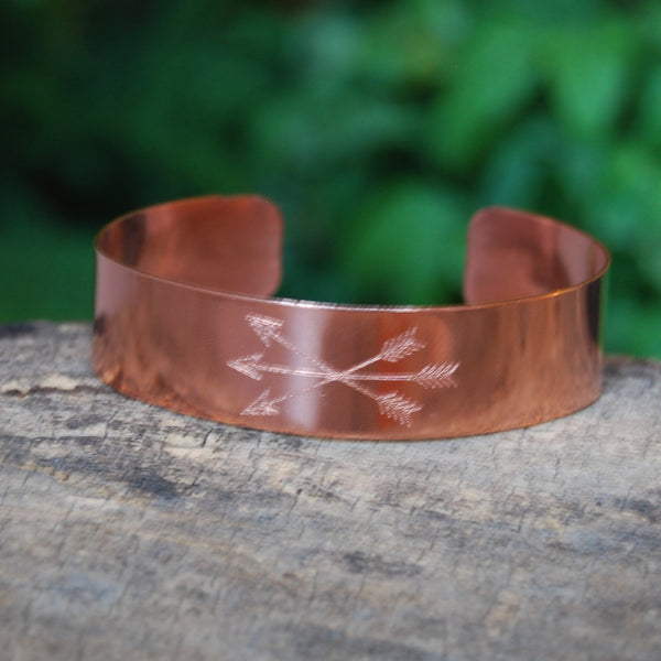 Friendship Arrow Cuff