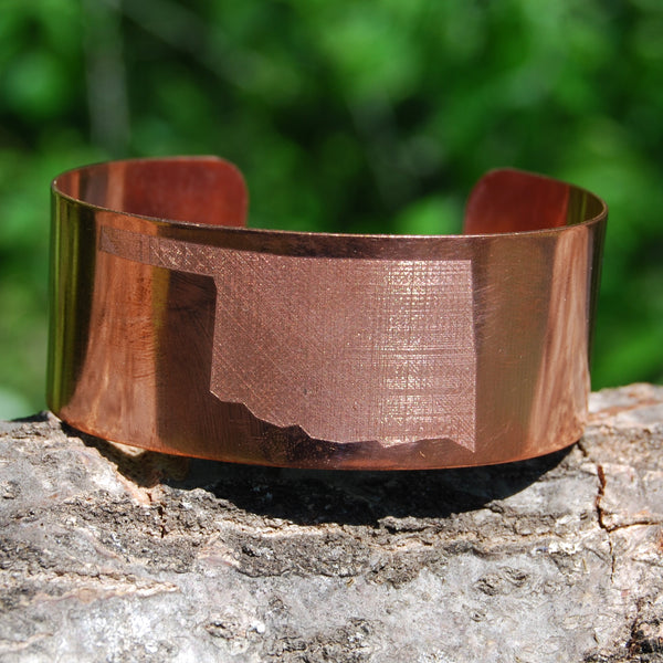 Oklahoma Cuff In Copper