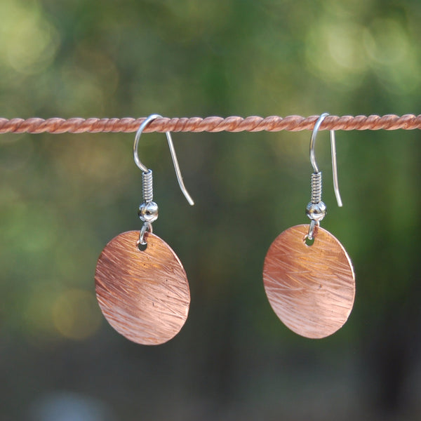 Copper Storm Earrings