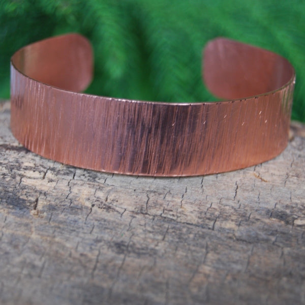 Hammered Copper Riley Cuff