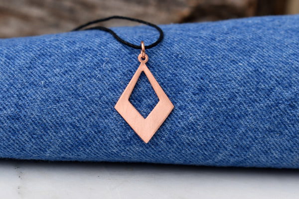 Gracie Copper Pendant