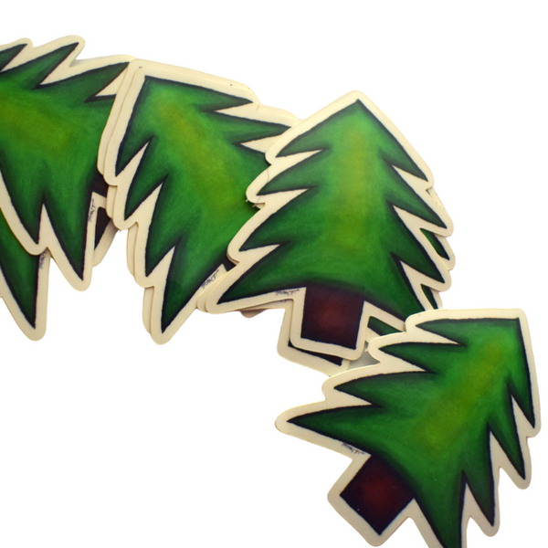Pine Tree Sticker