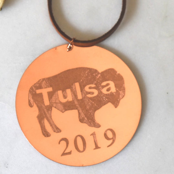 Tulsa Buffalo Ornament -Limited Edition 2019