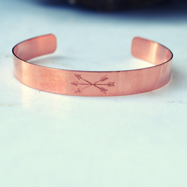 Three Crossed Arrows Louella Cuff