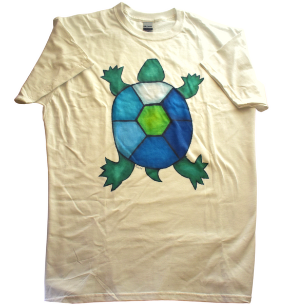 Turtle T-shirt by Mesmoe Art