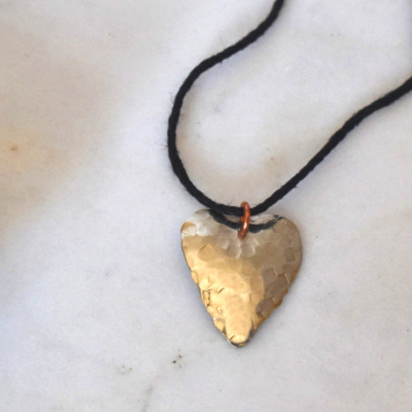 Sofi Silver Heart Necklace