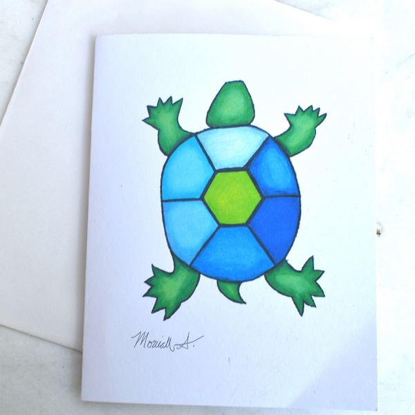 Turtle Notecard