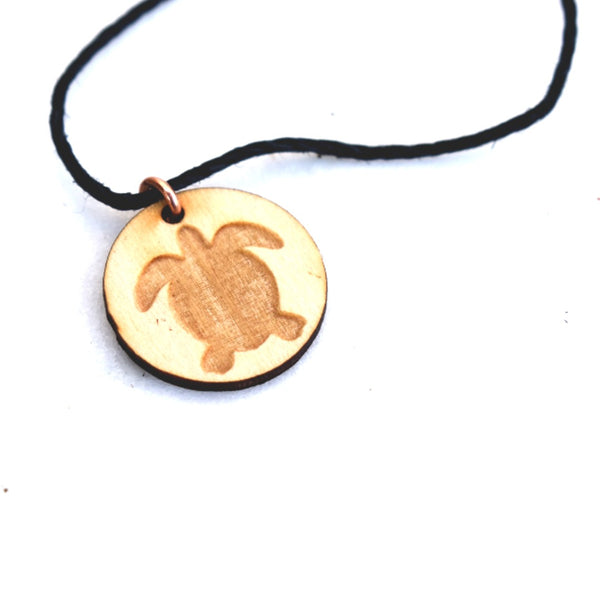 Usdi Turtle Pendant by Cherokee Copper