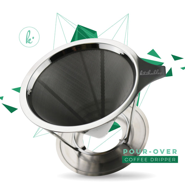Stainless Steel Pour over Coffee Drip Filter