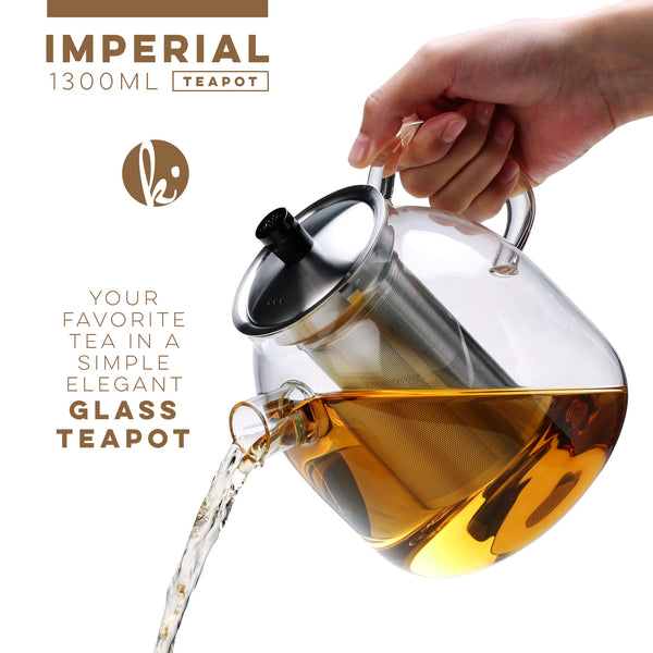 Imperial Glass Teapot, 44 oz