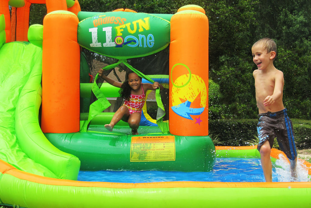 Choosing Inflatable Water Slides: Information You Should Know