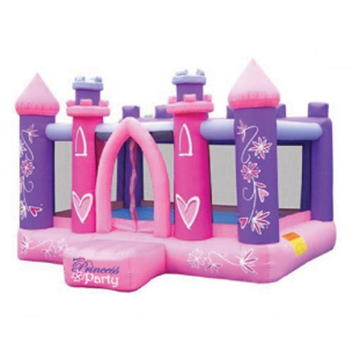 KidWise Princess Party Bouncer - Inflatable Bounce House (KWSS-MP-1001)