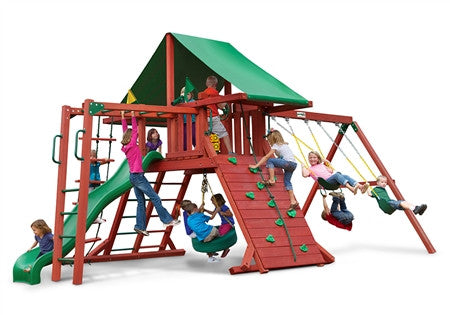 Gorilla Playsets Sun Valley II Swing Set (01-0011)