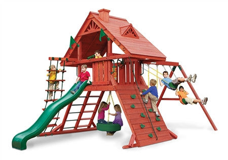 Gorilla Playsets Sun Palace I Wooden Swing Set (01-0012)