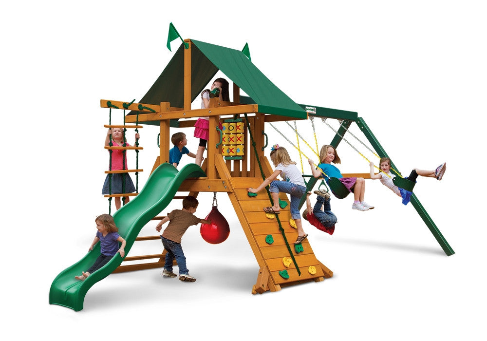 Gorilla Playsets High Point Swing Set (Latitude) (01-0040)