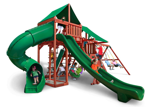 Gorilla Playsets Sun Valley Deluxe Swing Set (01-0042-1)
