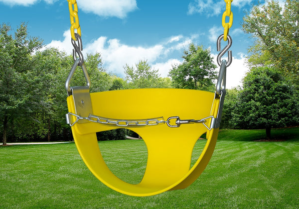 Gorilla Playsets Half Bucket Toddler Swing (04-0010-Y/Y)