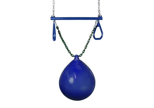 GorillaPlaysets Buoy Ball with Trapeze Bar (04-0012-B/B)
