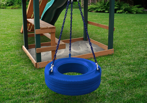 Gorilla Playsets The 360å¡ Turbo Tire Swing - Blue (04-0015-B/B)