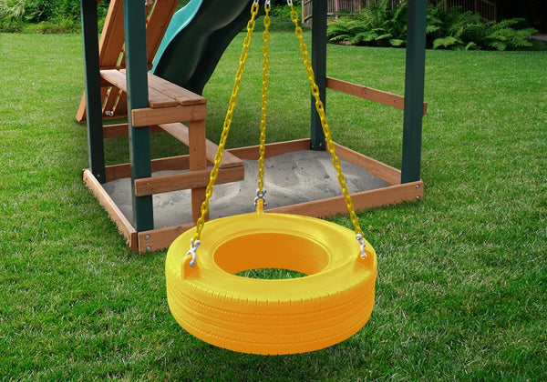 Gorilla Playsets The 360å¡ Turbo Tire Swing - Blue (04-0015-Y/Y)