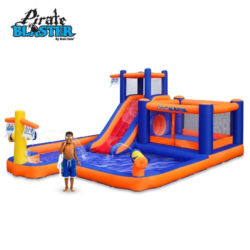 Blast Zone Pirate Blaster Inflatable Water Park