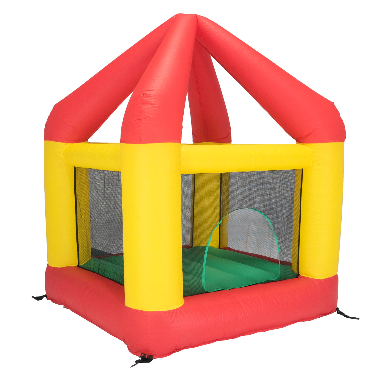 Bazoongi 6.25' X 6' Bounce House With Open Roof (Without Cover) Bh66Or